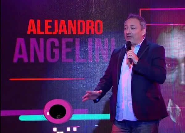 Alejandro Angelini es actor, comediante de Stand Up.